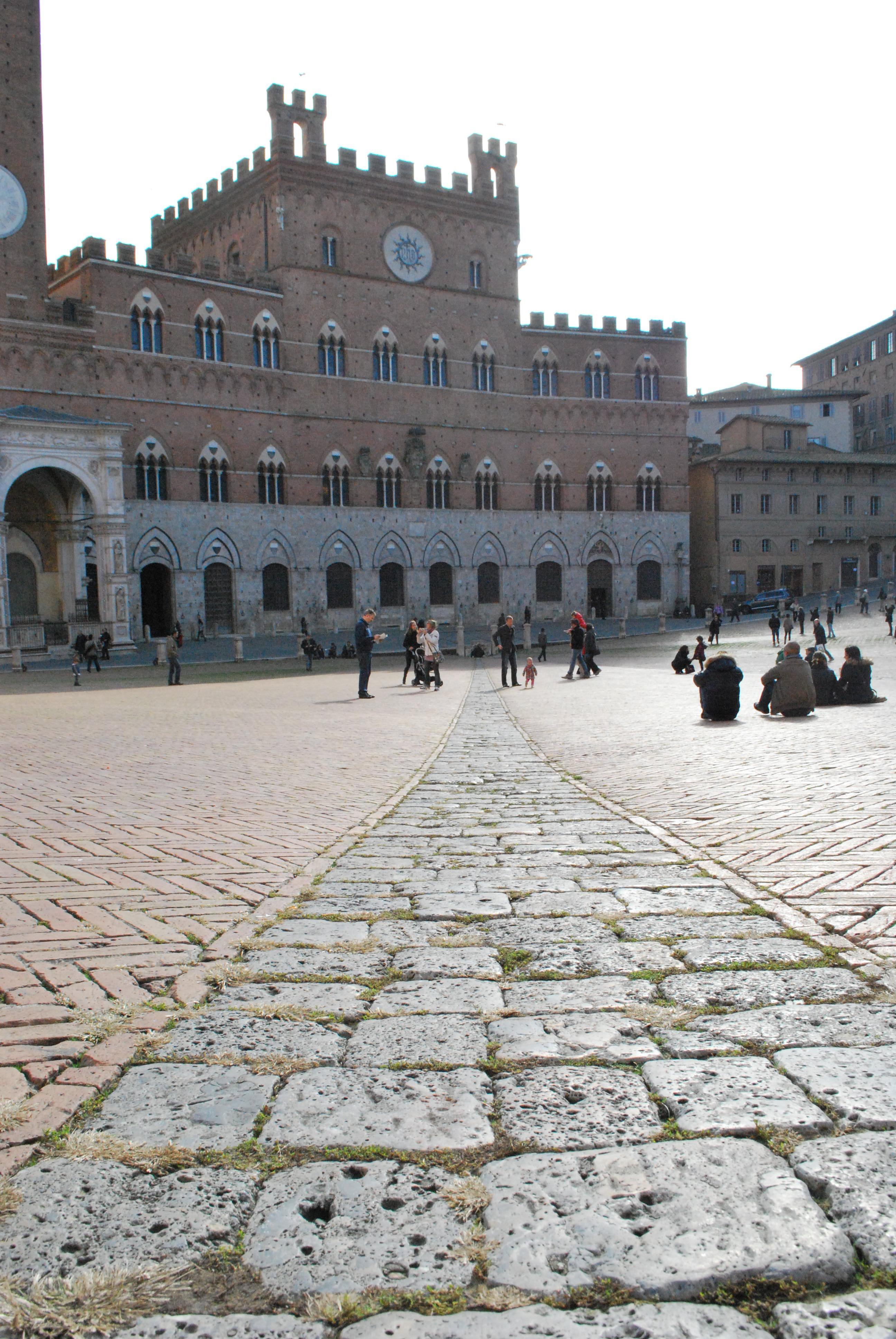 Piazza del Campo, scorcio, foto di Francesca Pelagatti