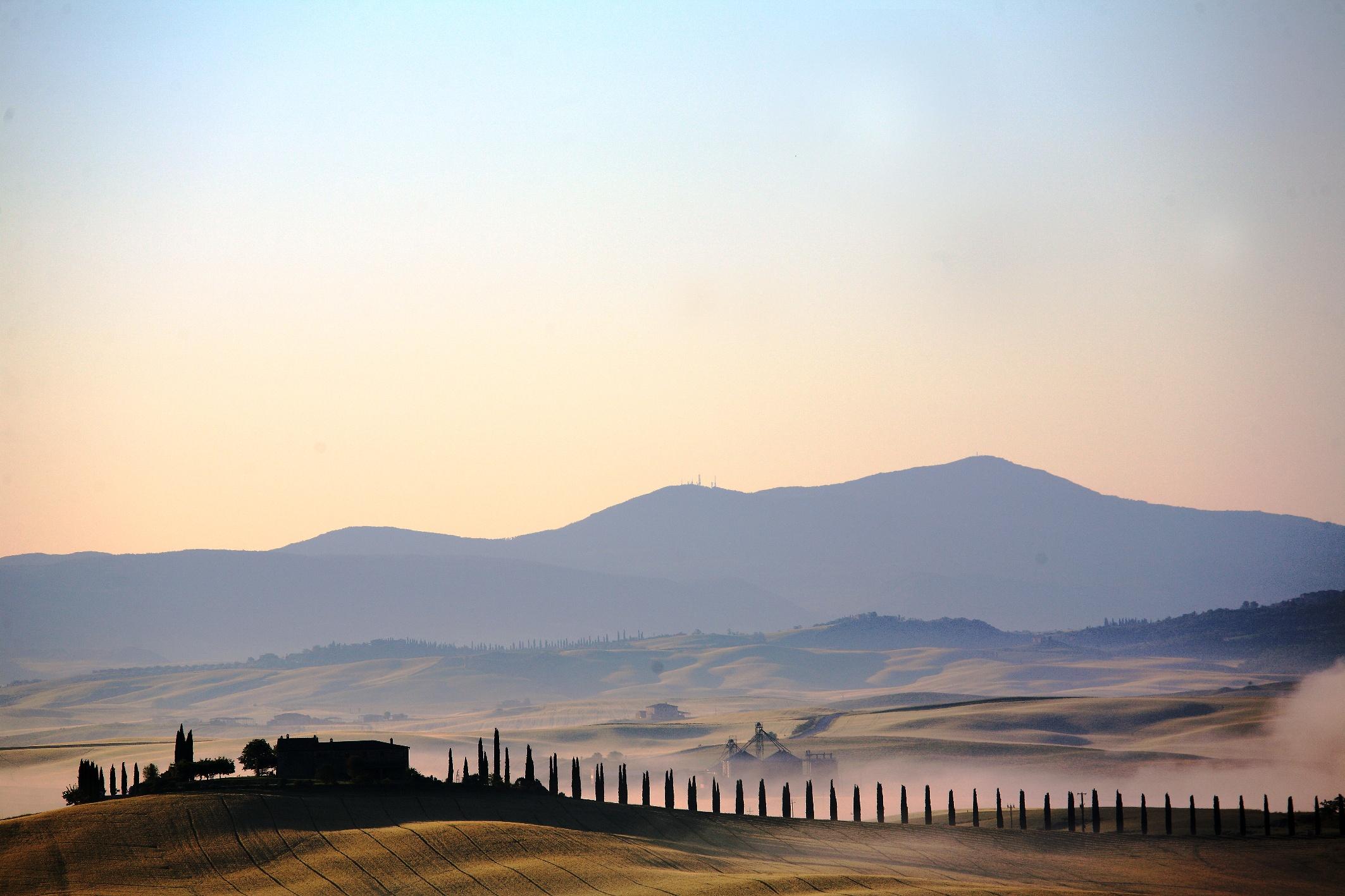 Val di Merse, panorama, foto di Francesca Pelagatti