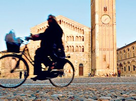 Parma by bicycle