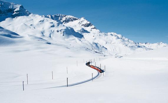 Bernina Trail, from Italy to Switzerland
