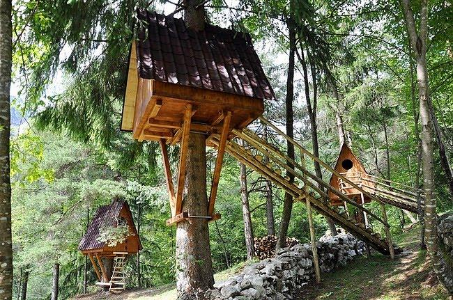Tree Village of Claut