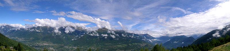 Valtellina-Panorama