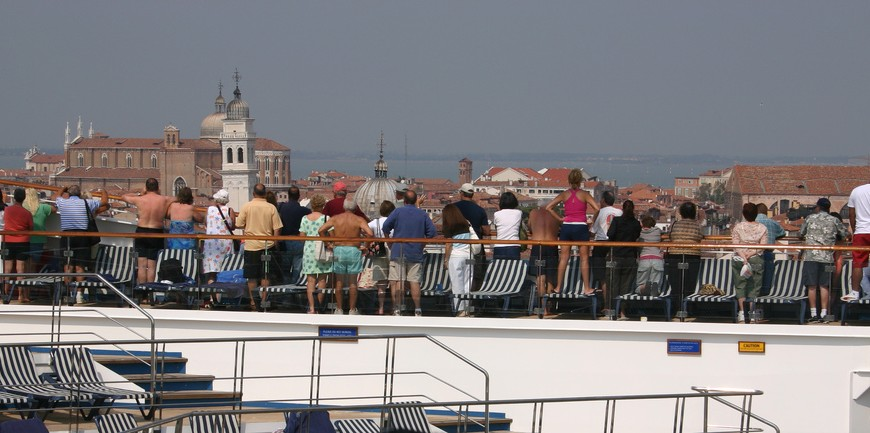 Venice, Cruise ships environmental impact