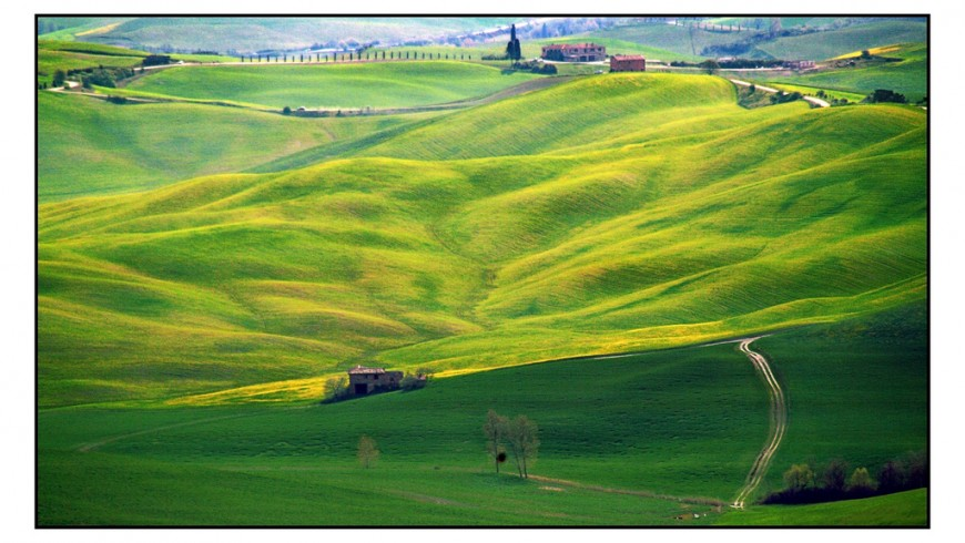 Val d'Orcia, near Siena, photo by Context Travel, via Flickr