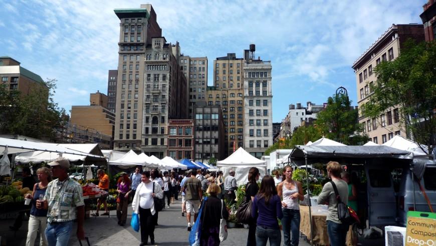 Farmers' Market, Union Square, New York, ph. by Jessica Reeder, via flickr