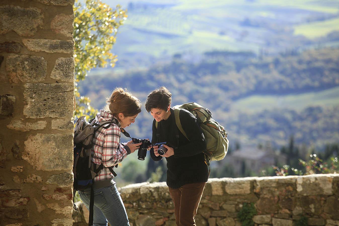 Vignoni Alta, Tuscany, photo by Enrico Caracciolo, all rights reserved