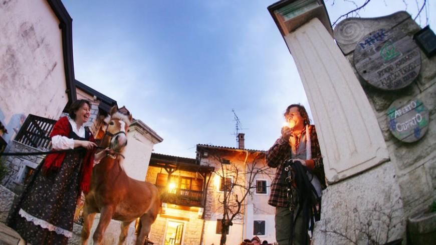 Osmiza in Carso, Northest Italy, via marecarso.eu
