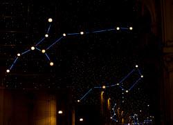 Artist lights in Turin Christmas 2013 by daiquiri_frozen via Flickr