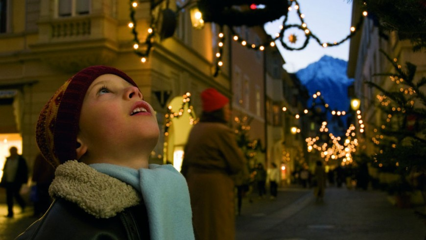 Christmas markets in Merano, photo by SMG A Filz, via Flickr