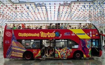 Turin bus by Turismo Torino & provincia
