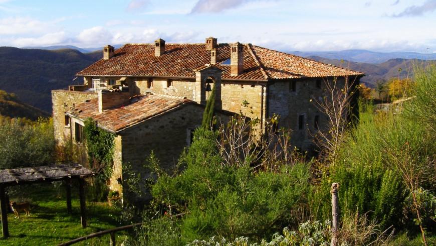 Monestevole, Umbria, ph. by ckg.photo, via Flickr