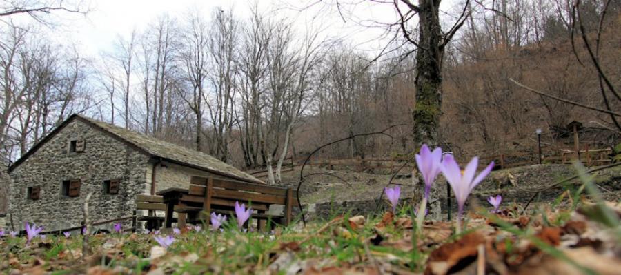 Mill in Cerreto Alpi, Apennines in Emilia Region, photo by Briganti di Cerreto, via It.a.cà