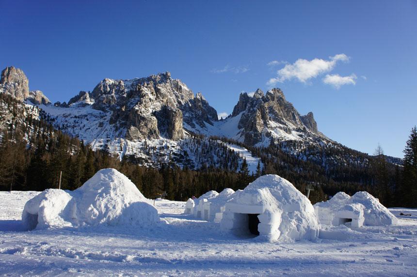 Igloo Village, Dolomiti, Italy