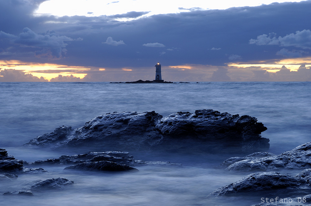 """mangiabarche"" Lighthouse, Sardinia, Italy ph. by Stefano Piddu"