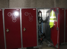 Bike Lockers for employees