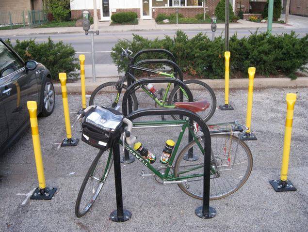 Special bike ranks in USA
