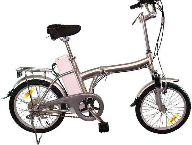 A model of electric bike