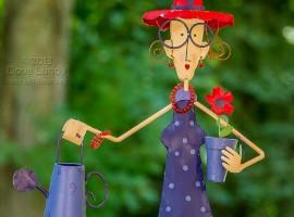 The red hat gardener
