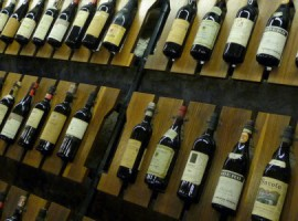 Barolo wine bottles
