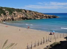 Calamosche beach by Frédérique Voisin Demery