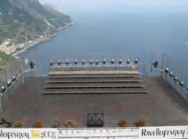 The stage of Festival di Ravello