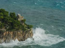La Torre di Vettiva over Amalfi