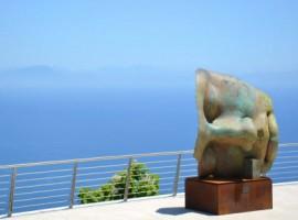 Mitoraj statue at Ravello estate 2012