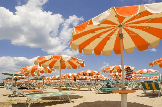 ecofriendly beaches in Italy: Bellaria, Igea Marina, Emilia Romagna