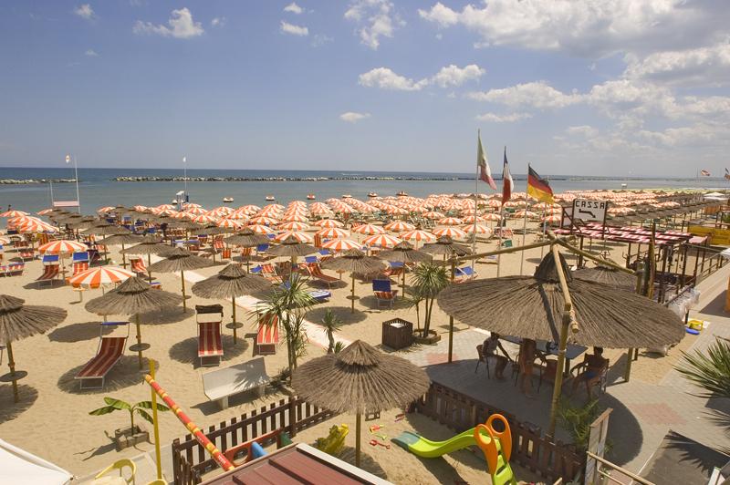 ecofriendly beaches in Italy: Bellaria, Igea Marina, Emilia Romagna