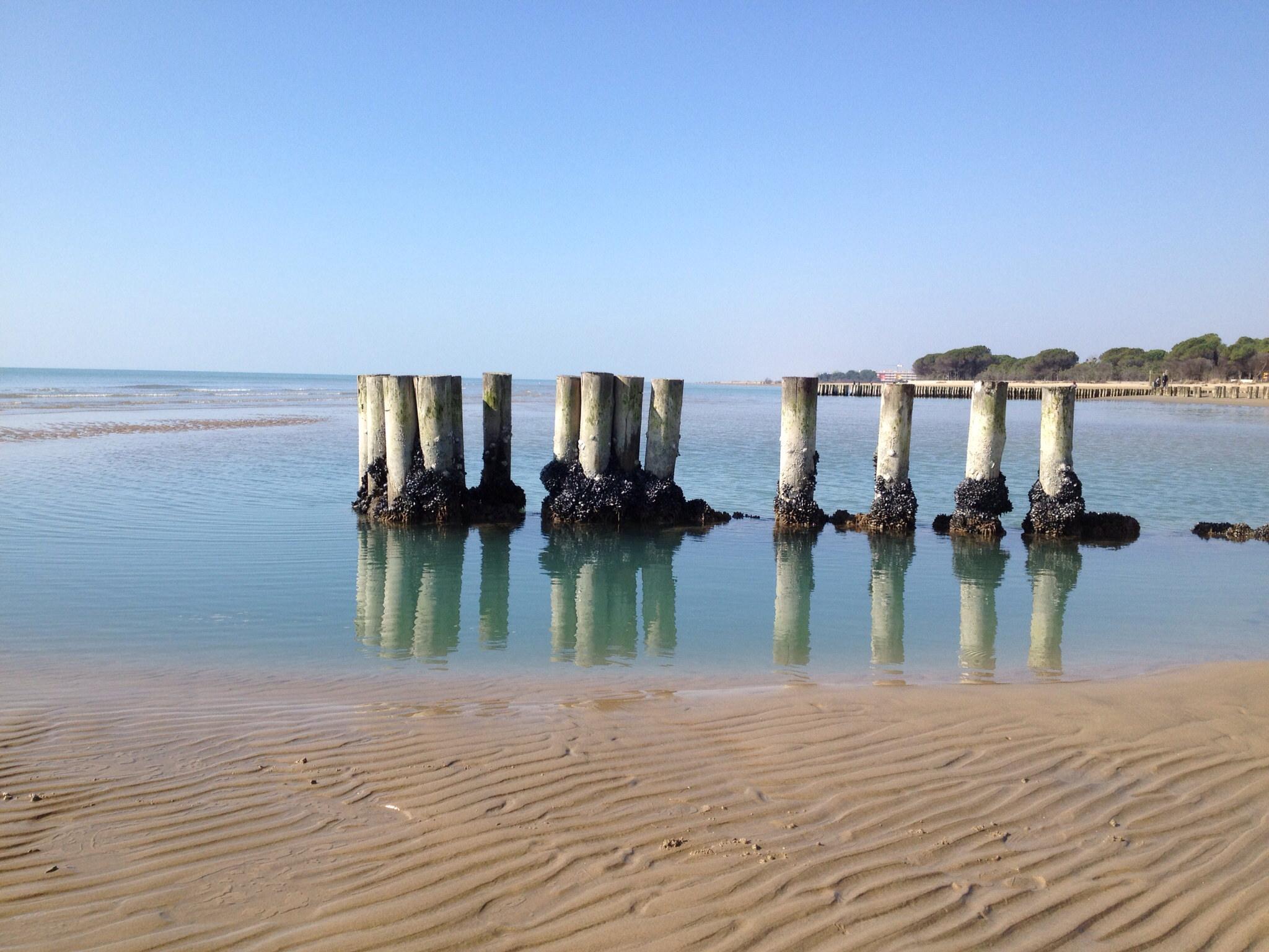 eco/friendly beaches in Italy: Bibione, Venice