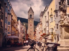 Bicycle and Meran, Italy