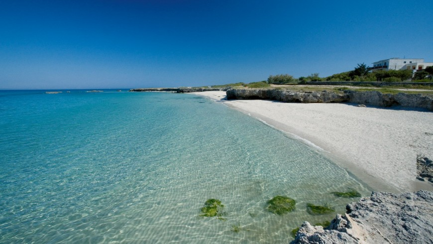 ecofriendly beaches in Italy: Ostuni beach, Puglia