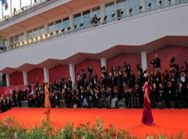 Stars red carpet in Venice