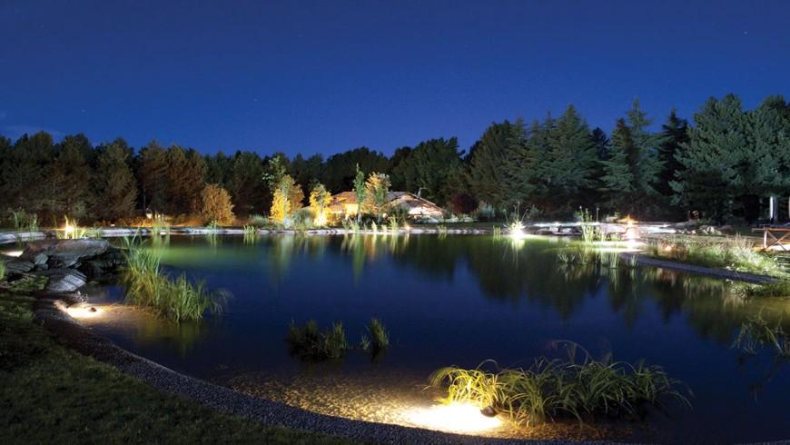 biopond in Italy, in Parco dei Cimini