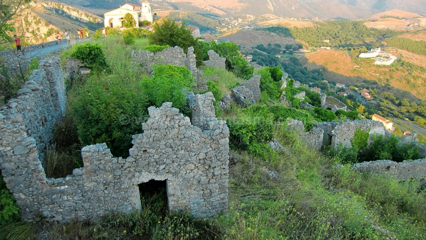 The ghost town of Old Maratea, Potenza