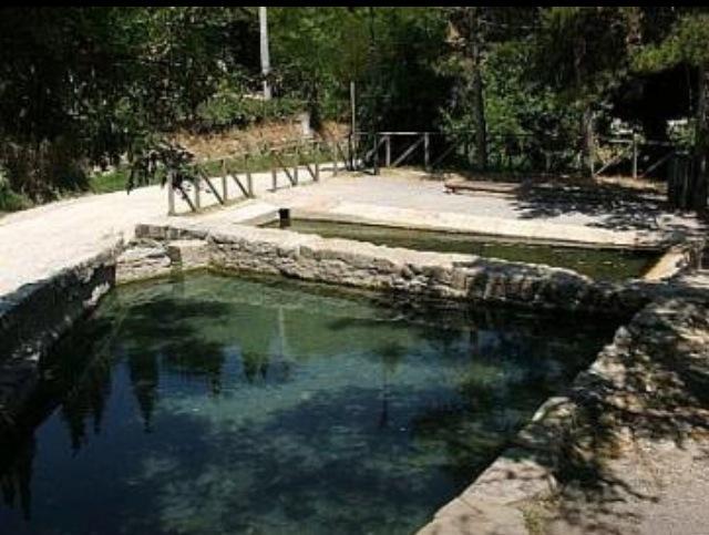 Free Baths in San Casciano, Tuscany