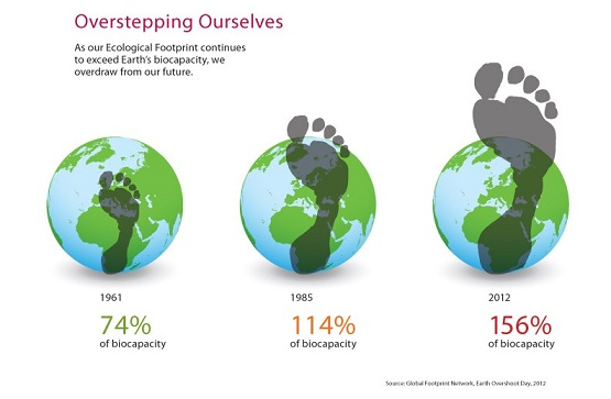 Humanity footprints