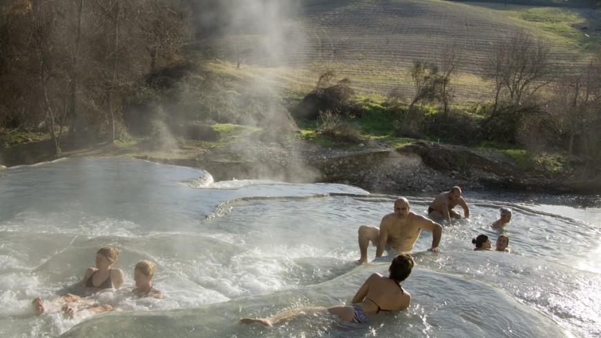 Halloween weekend in Italy: hot springs in Tuscany