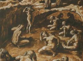 Gli adulatori, Giovanni Stradano(1587)