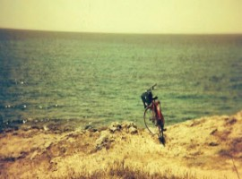 Bicycle and the sea