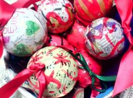 Ecofriendly Christmas decorations