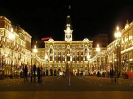 Piazza Unità in Trieste