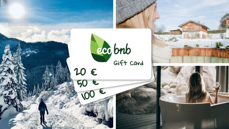 eco-vacation as a gift for a green christmas