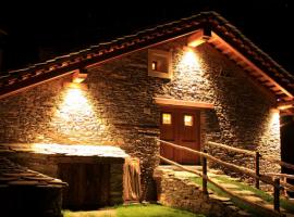 A chalet of Sagna Rotonda