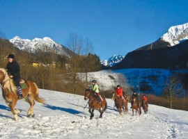 Horse riding in Val Brembana