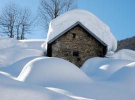 Alpi Marittime Natural Park in winter