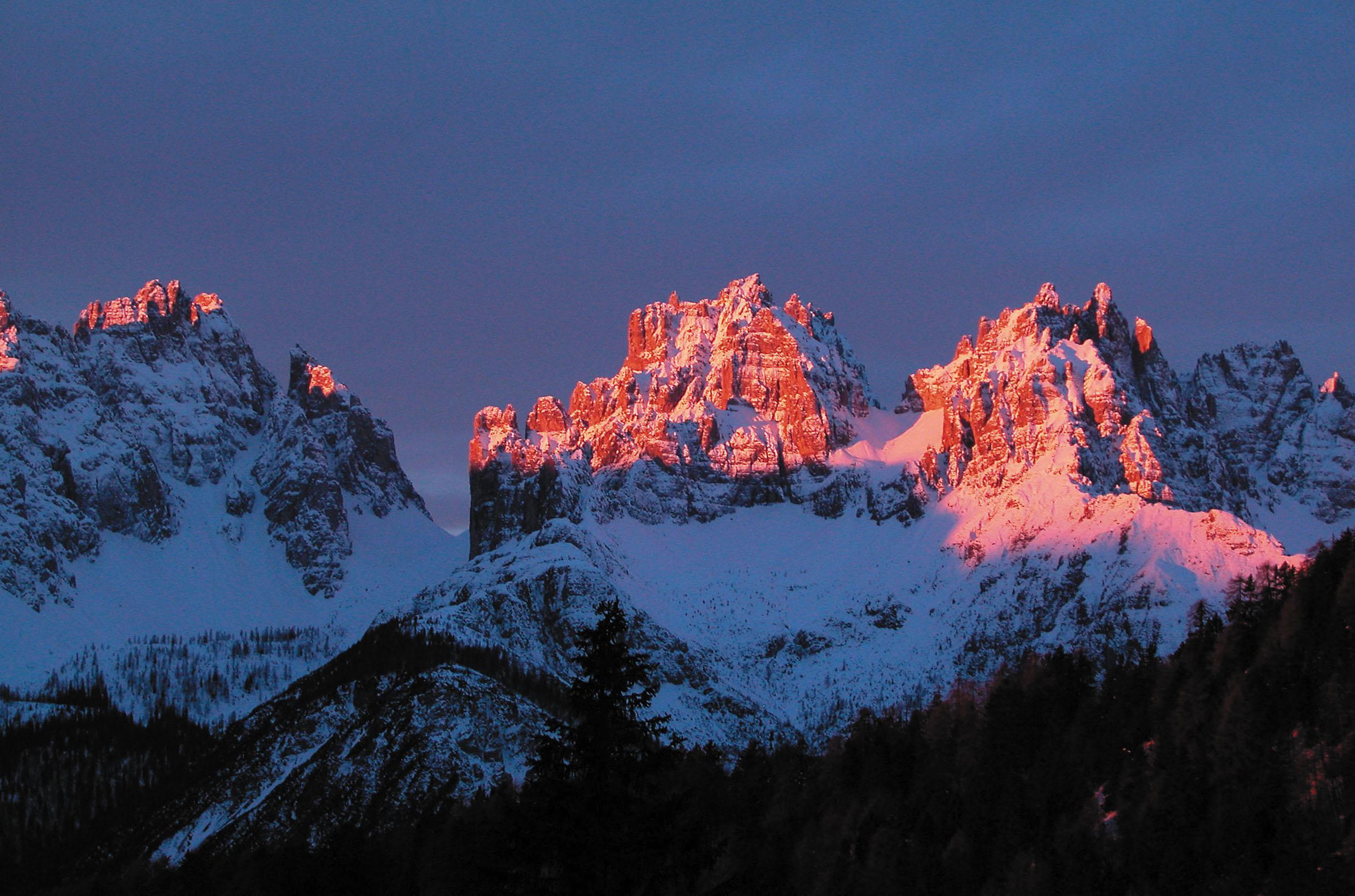 Dolomites in Forni di Sopria, Carnia Region, Italy