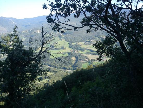 Natural surroundings, Appennines, Vegan agritourism Borgo di Tara, Parma