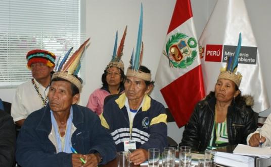 A reunion of the Achuar Communities