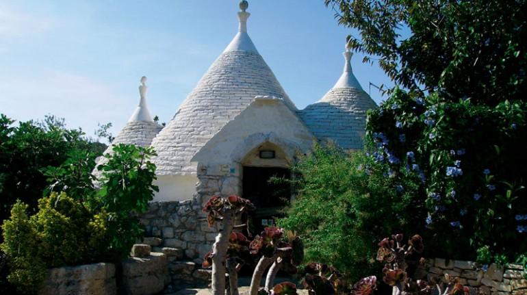 some trulli in the manor farm Sciaiani Piccola (BR)